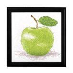 manzana verde cajas de regalo