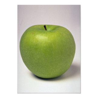 """Manzana verde deliciosa invitación 5"""" x 7"""""""