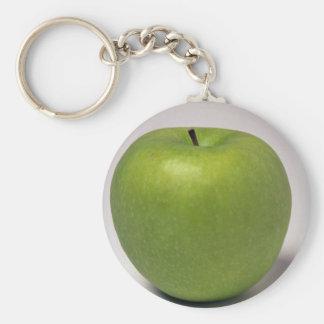 Manzana verde deliciosa llavero personalizado