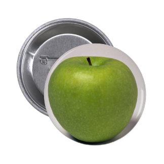Manzana verde deliciosa pin