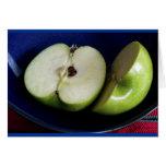 Manzana verde felicitación