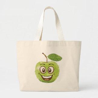 manzana verde feliz bolsas
