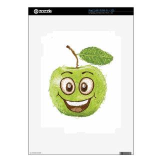 manzana verde feliz skins para iPad 2
