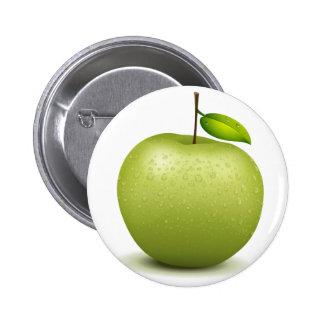 Manzana verde pin