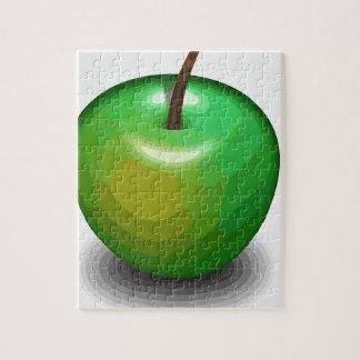 Manzana verde puzzle