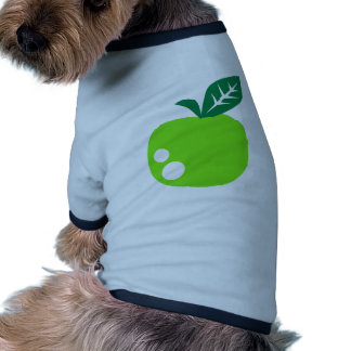 Manzana verde camisetas mascota
