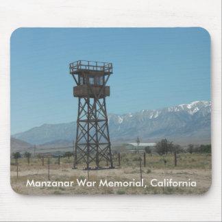 Manzanar War Memorial Guard Tower Mouse Pad