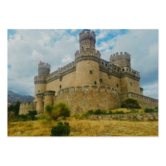 Manzanares el Real Castle, Madrid Pack Of Chubby Business Cards