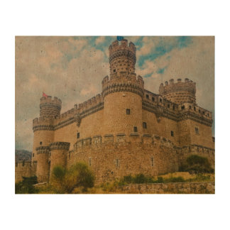 Manzanares el Real Castle, Madrid Cork Fabric