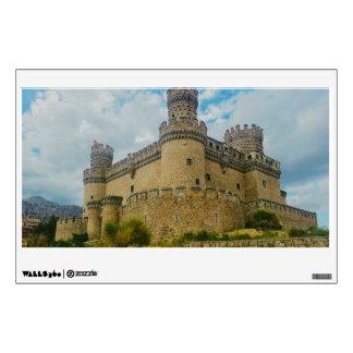 Manzanares el Real Castle, Madrid Room Stickers