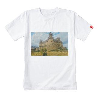 Manzanares el Real Castle, Madrid Zazzle HEART T-Shirt