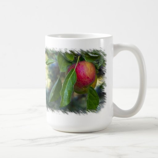 Manzanas 3 en blanco tazas