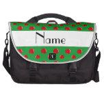 Manzanas conocidas personalizadas bolsas de portátil