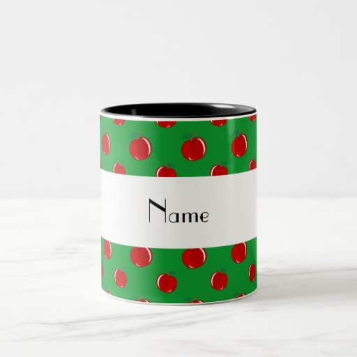 Manzanas conocidas personalizadas tazas
