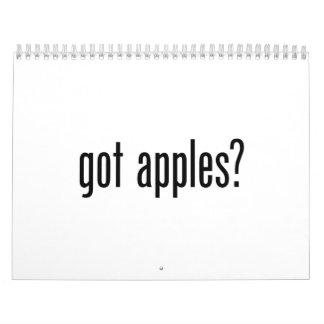 manzanas conseguidas calendarios