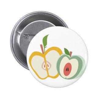 Manzanas cortadas chapa redonda 5 cm