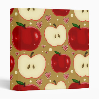 "Manzanas cortadas rojo carpeta 1"""