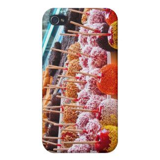 Manzanas de caramelo - Coney Island, NYC iPhone 4 Cárcasas