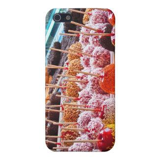 Manzanas de caramelo - Coney Island, NYC iPhone 5 Cárcasas