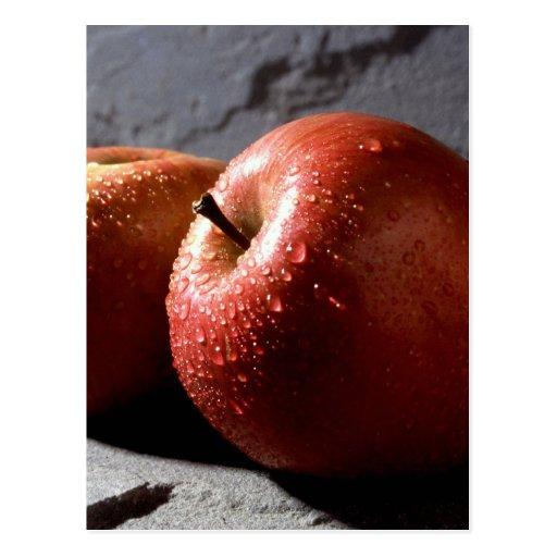 Manzanas de Fuji Tarjetas Postales