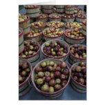 Manzanas de la caída tarjeta pequeña
