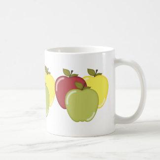 Manzanas de la caída taza clásica