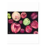 Manzanas de la diversión tarjeta postal