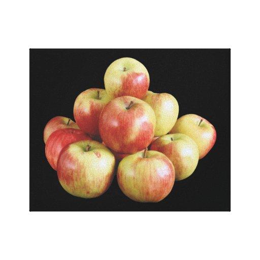 Manzanas de Macintosh Impresión En Lienzo