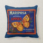 Manzanas de Mariposa Cojín