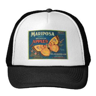 Manzanas de Mariposa Gorra