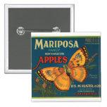 Manzanas de Mariposa Pin