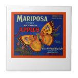 Manzanas de Mariposa Tejas Ceramicas