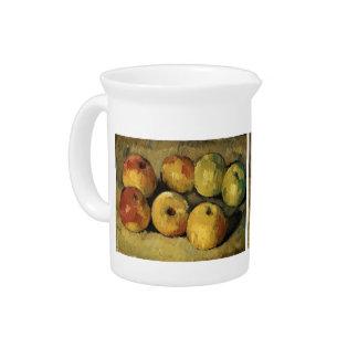 Manzanas de Paul Cezanne- Jarras