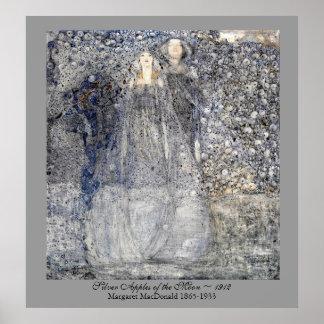 Manzanas de plata MacDonald 1912 de Nouveau del Póster