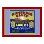 Manzanas de Wapato Washington Postal