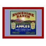 Manzanas de Wapato Washington Tarjeta Postal