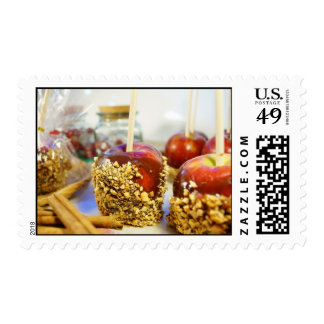 Manzanas del cacahuete del caramelo envio