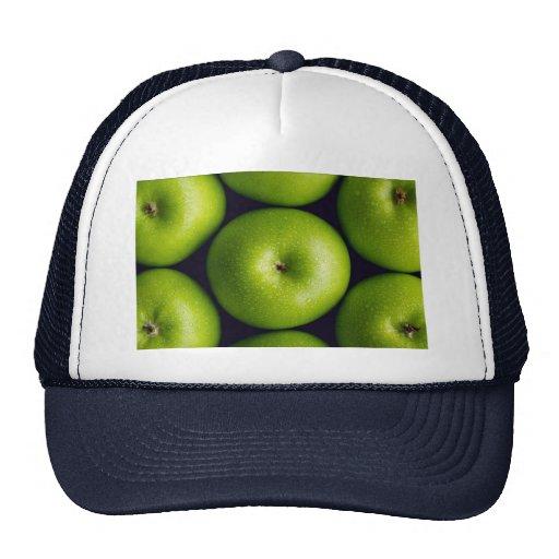 Manzanas del granny smith gorras