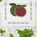Manzanas del país toallas de cocina
