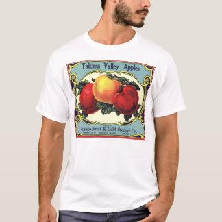 Manzanas del valle de Yakima del arte de la Playera