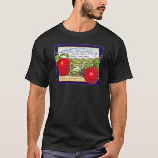 Manzanas del valle de Yakima - etiqueta del cajón Playera