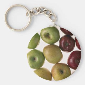 Manzanas deliciosas llaveros
