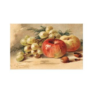 Manzanas e impresión estirada uvas de la lona impresion en lona