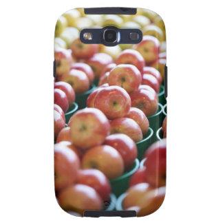 Manzanas en una parada del mercado galaxy s3 cobertura