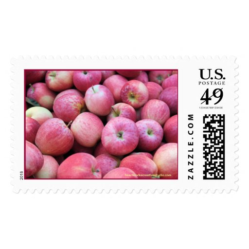 Manzanas frescas de la huerta franqueo