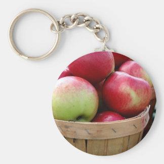 Manzanas frescas llavero personalizado
