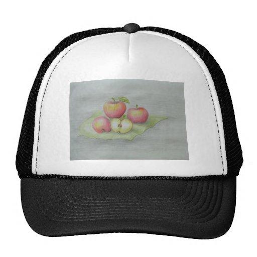 manzanas gorras