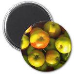 Manzanas - imán