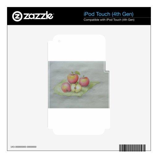 manzanas iPod touch 4G skins