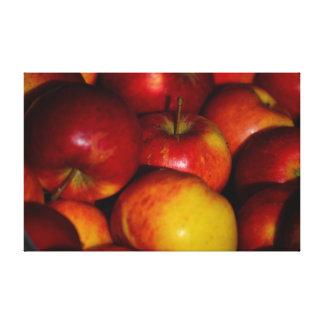Manzanas - lona de la foto impresión de lienzo